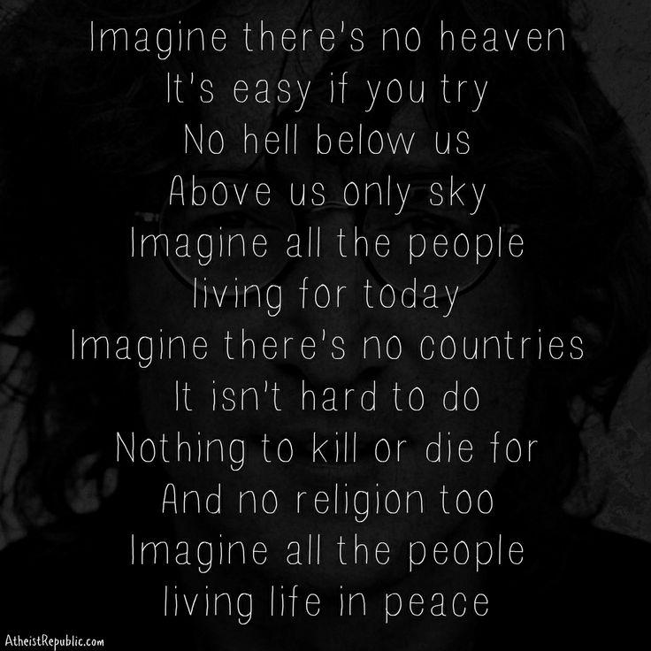 Quotes About Imagine John Lennon 21