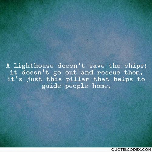 Quotes about People saving (49 quotes)