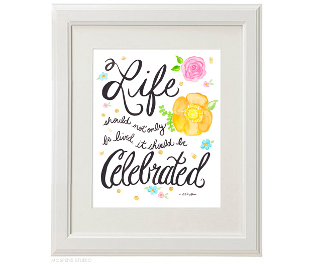 Quotes About Celebrate Life 60 Quotes Custom Celebrating Life Quotes