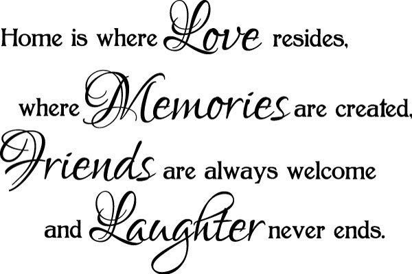 quotes about welcome back to home quotes
