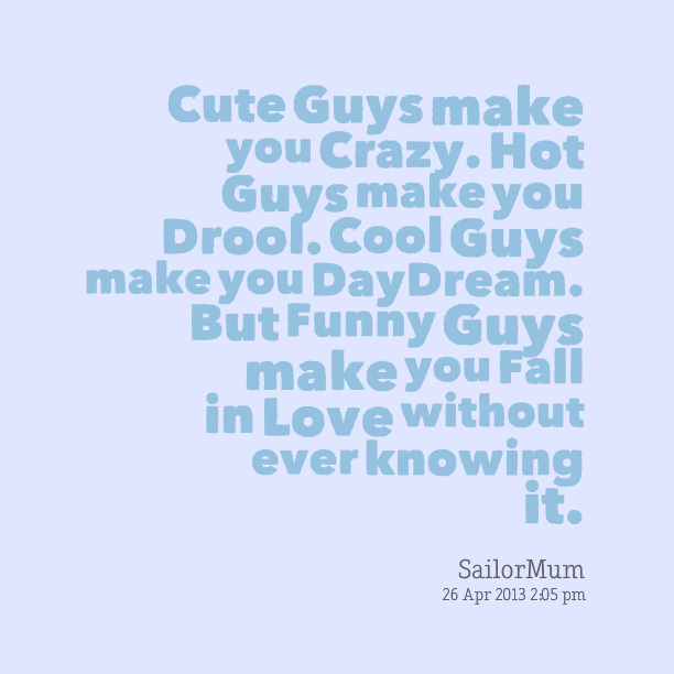 Where to find cute guys