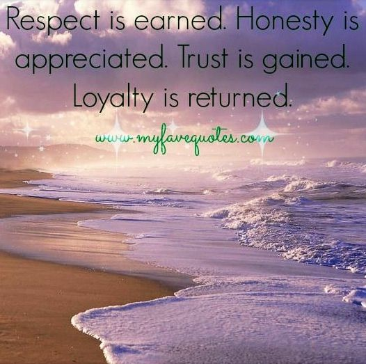 Quotes about Honesty and trust (52 quotes)