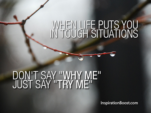 Quotes About Try Me 591 Quotes