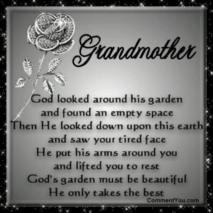 Quotes about Grandmother that passed away (46 quotes)