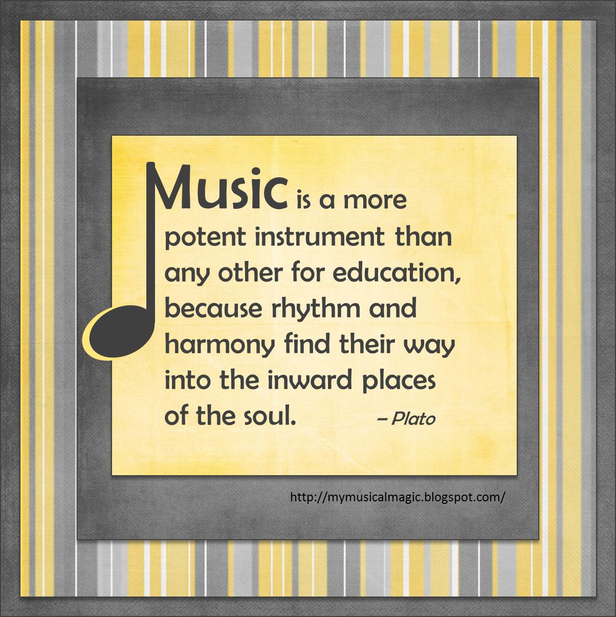 Quotes about Teaching with music (23 quotes)