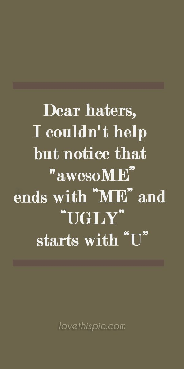 Quotes About Haters Jealousy 22 Quotes