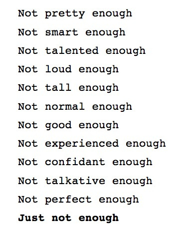 Quotes About Not Pretty Enough 46 Quotes