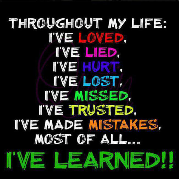 Quotes about Learning lessons from mistakes (16 quotes)