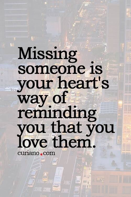 Missing some one