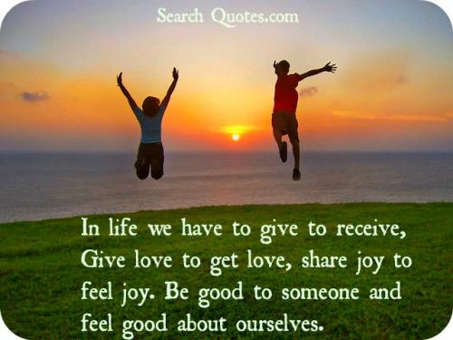 Joy In Giving: Quotes About Joy Of Giving (53 Quotes