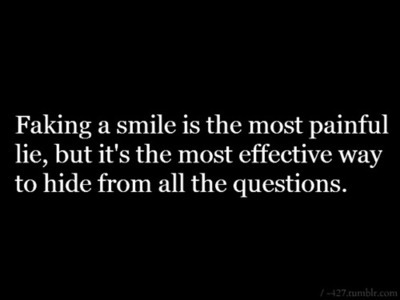 Quotes about Behind A Smile (45 quotes)