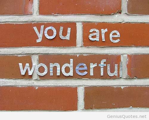Image result for BEING WONDERFUL