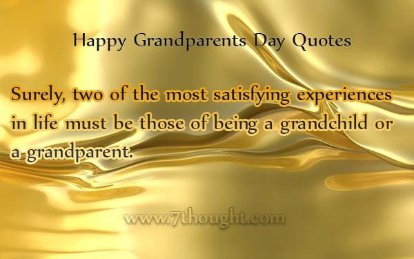 Quotes About Grandparents Day 64 Quotes