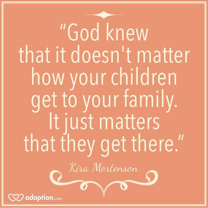 Quotes About Adoption Enchanting Quotes About Adoption 179 Quotes