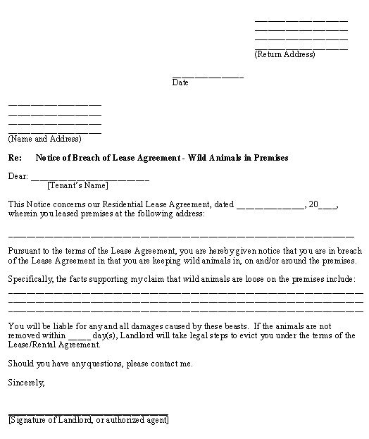 httppinstakecomsample letter 15a breach of contract show cause notice doc