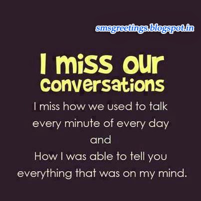 You someone to what to miss say What to