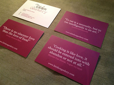 Quotes about business cards 56 quotes kitchengeekery colourmoves