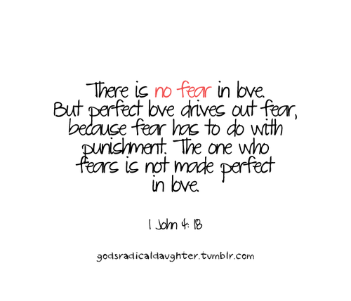 Quotes About Fear Of Love 552 Quotes
