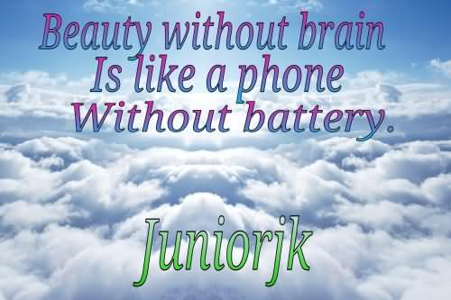 Quotes About Brain And Beauty 27 Quotes