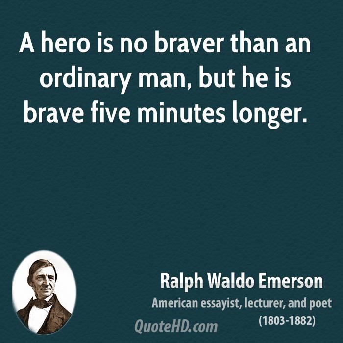 the essays of ralph waldo emerson - heroism