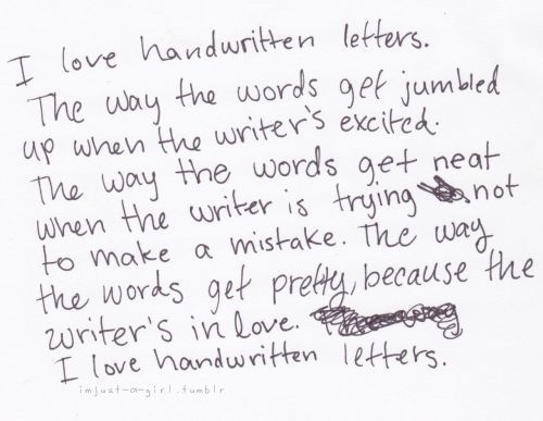 Quotes About Writing Love Letters