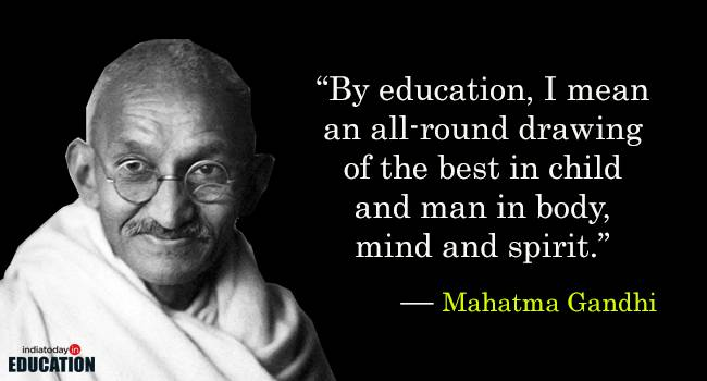 quotes about learning gandhi quotes