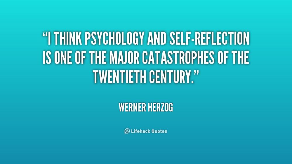psychology reflection on self