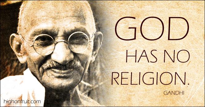 Quotes About Religion Gandhi Quotes - Gandhi religion