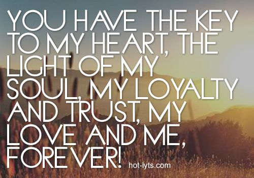 Quotes about Key to my heart (27 quotes)