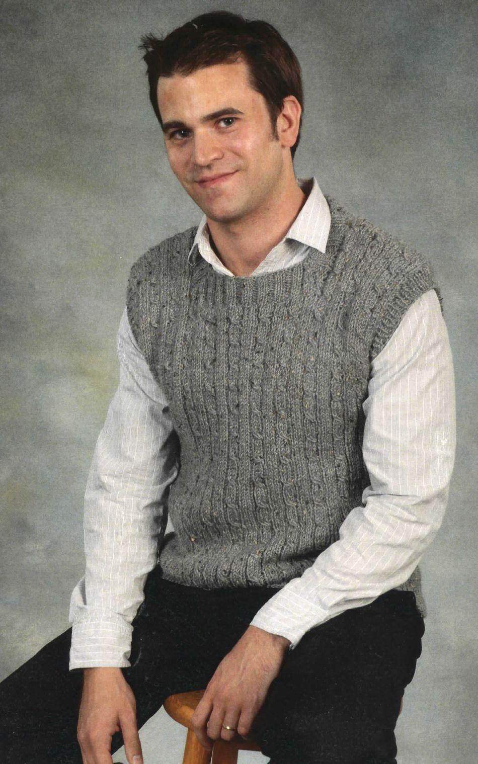 Crochet Mens Sweater Vest - Best Sweater 2017