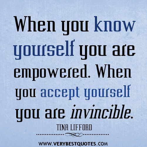 when you know yourself you are If you were the very last person on this planet, you should still be able to know within your heart that you are worthy, you are beautiful, you are wanted even if you become the very last person on earth, you should be fully wanted.