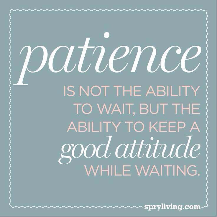 Quotes about Patience and waiting (45 quotes)