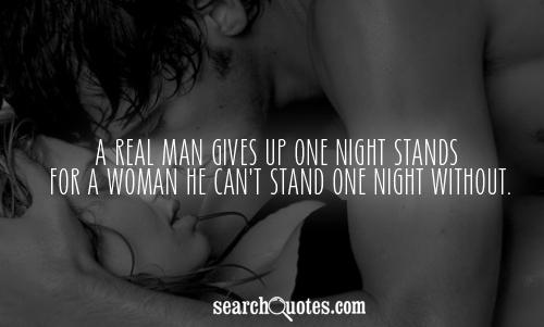 Guy one want with stand a night i a How To