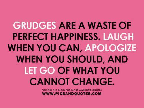 Latest Letting Go Of Grudges Quotes - Paulcong