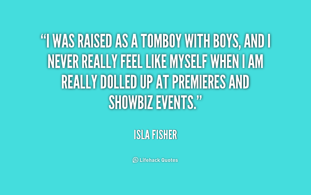 Quotes About Tomboy 144