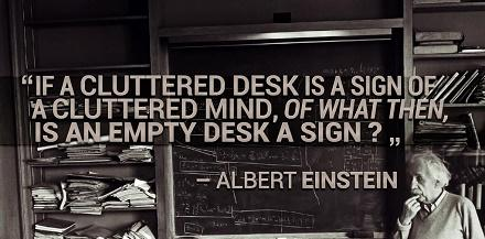 Quotes About Messy Desk 21