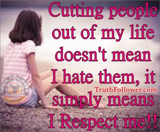 i respect people
