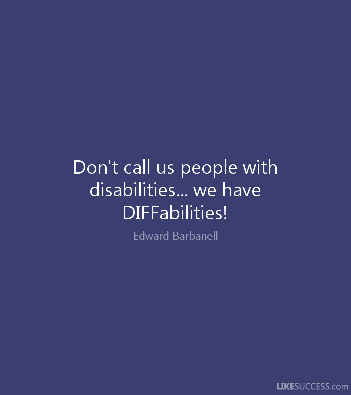 a report on the accomplishments of people with disabilities The report sets forth a summary of the wellness for people with disabilities with the life for people with psychiatric disabilities accomplishments.