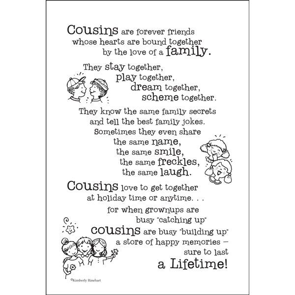 Quotes about Mean cousins (27 quotes)