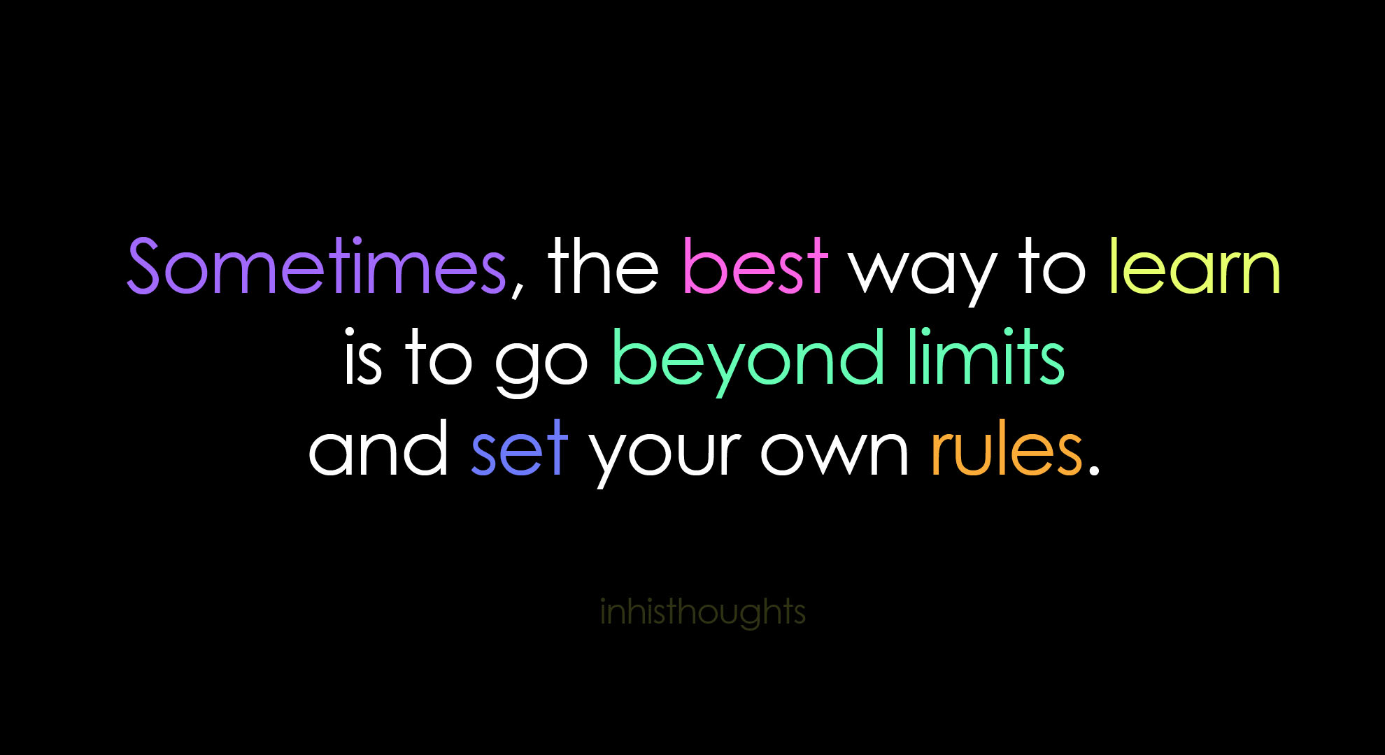 Quotes about No limits (218 quotes)