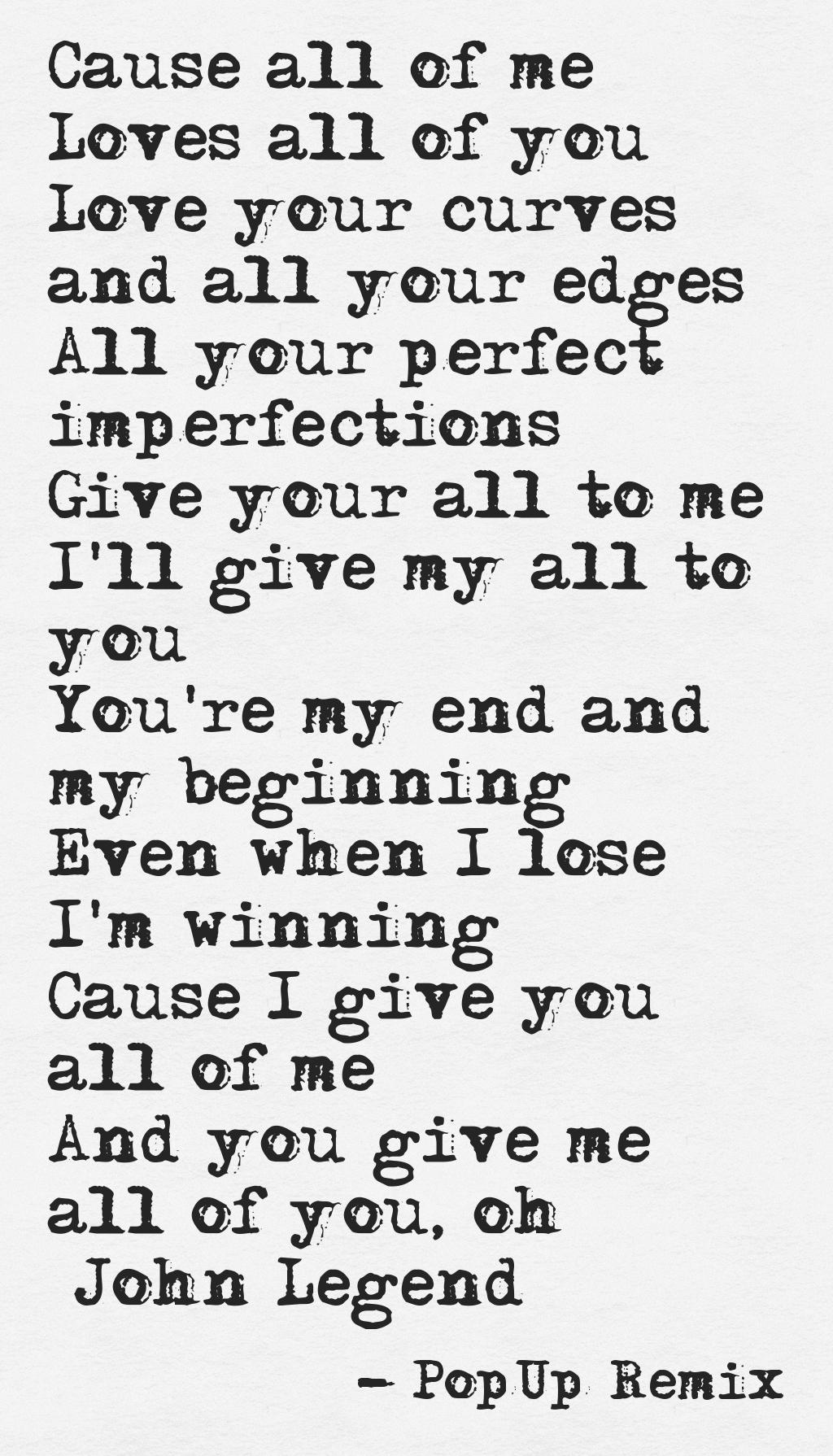 Quotes about Love in song lyrics (25 quotes)