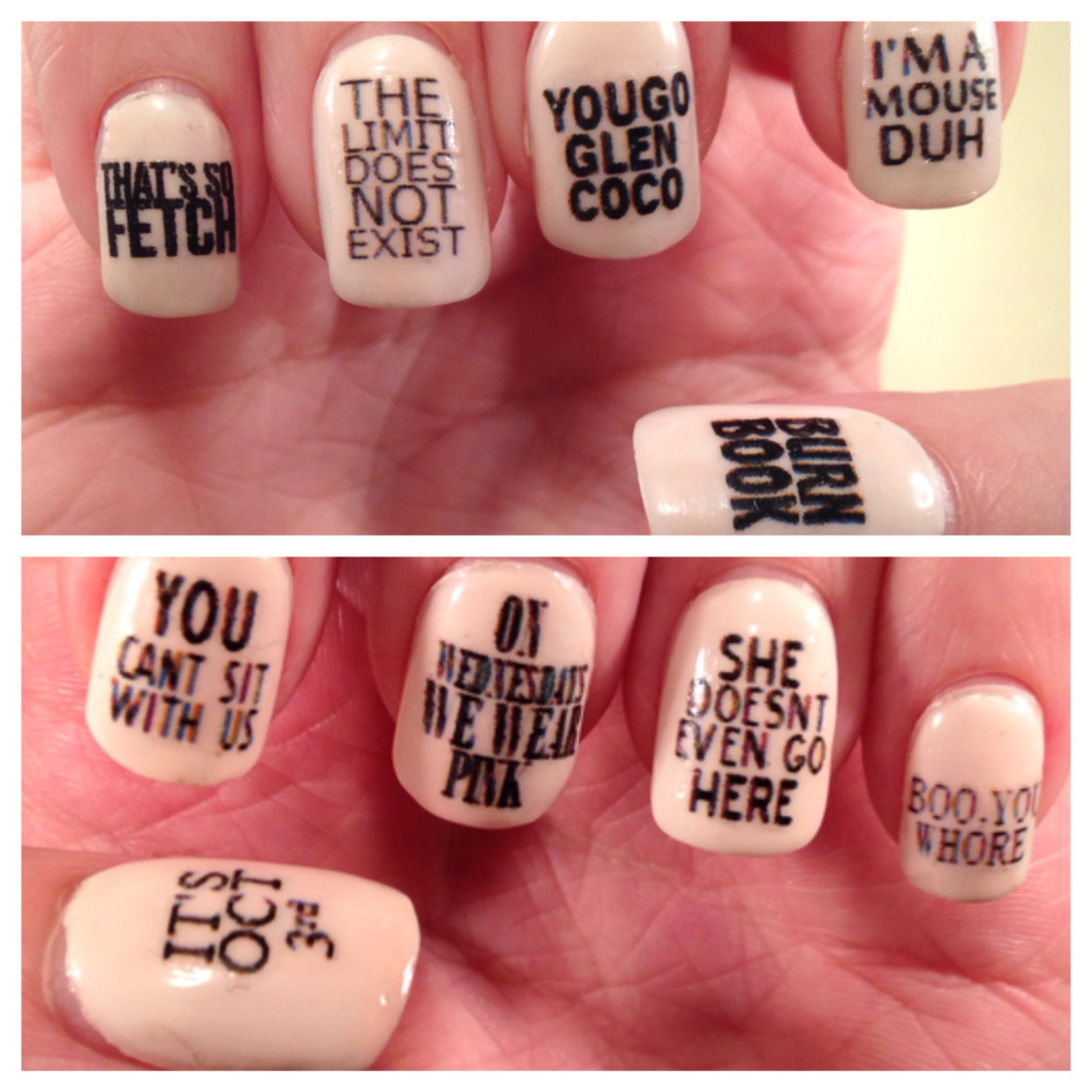 Image result for nails with quotes
