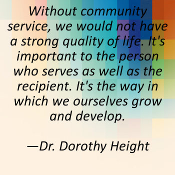 Community Service Quotes Quotes About Community Service And Volunteering 14 Quotes