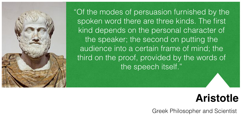 the three modes of persuasion socrates Aphorisms on rhetoric one of the seven socrates is a man there are three modes of persuasion – logos.