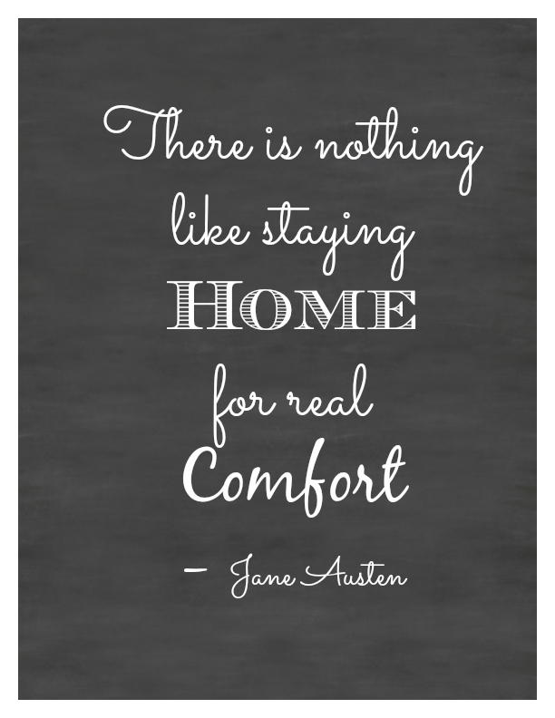 quotes about home jane austen quotes