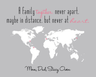 Quotes About Long Distance Family 23 Quotes