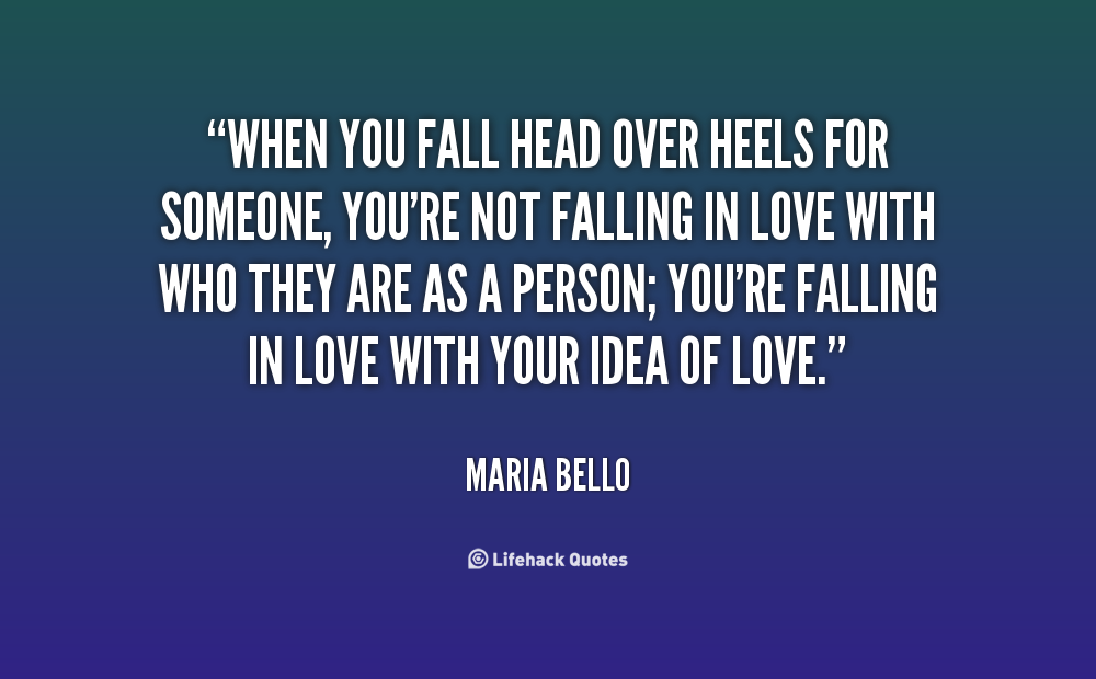 Someone Heels For Over Falling Head