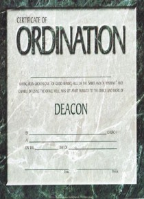 Quotes about ordaining an elder 20 quotes for Deacon certificate