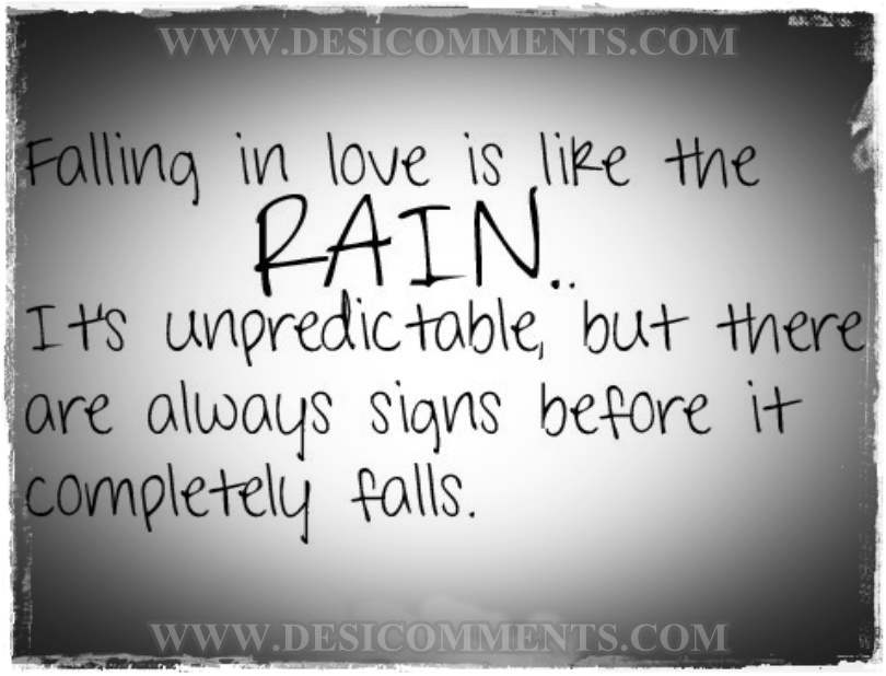 Quotes About Love Rain 99 Quotes