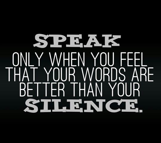 Quotes About Wisdom In Silence 59 Quotes